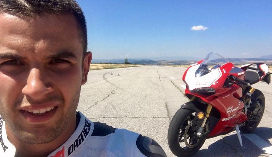 Скандалният пилот Ангел Караньотов счупи рекорд по време на европейския