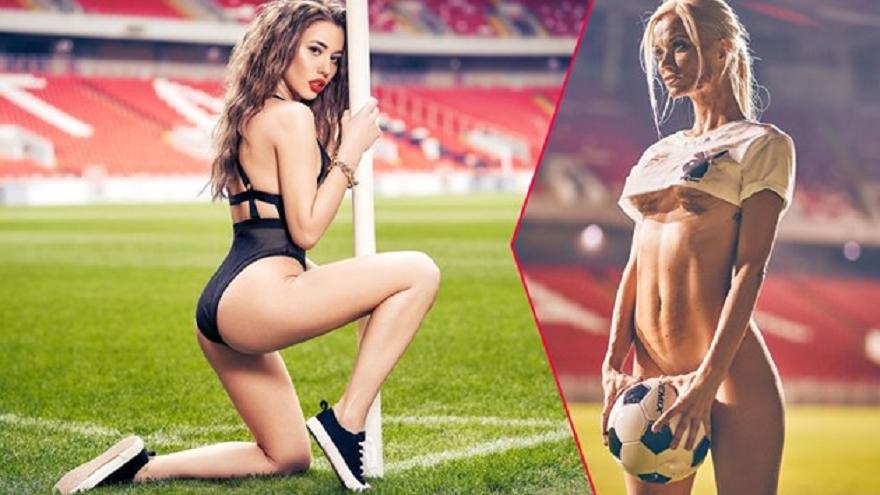 """Руското издание на """"Плейбой"""" отдаде почит на световното първенство, което"""