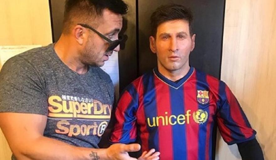 Певецът Константин се изгаври яко със суперзвездата на световния футбол