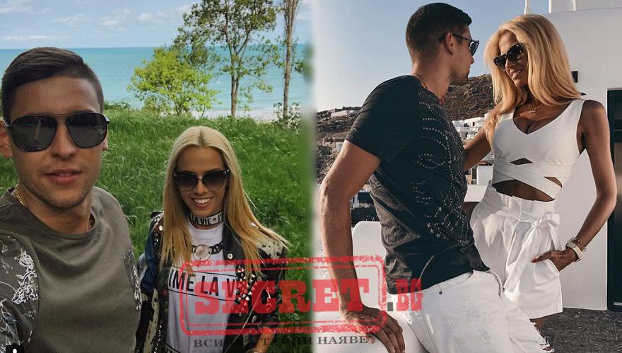 Волейболистът Николай Пенчев върза с годеж любимата си Рая Пакова.