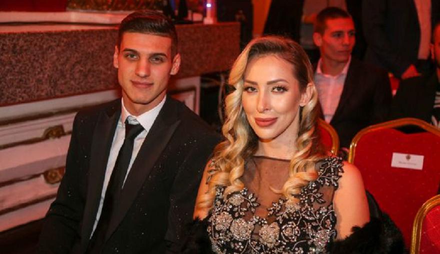 Досущ като холивудска звезда се появи звездата на ЦСКА Кирил