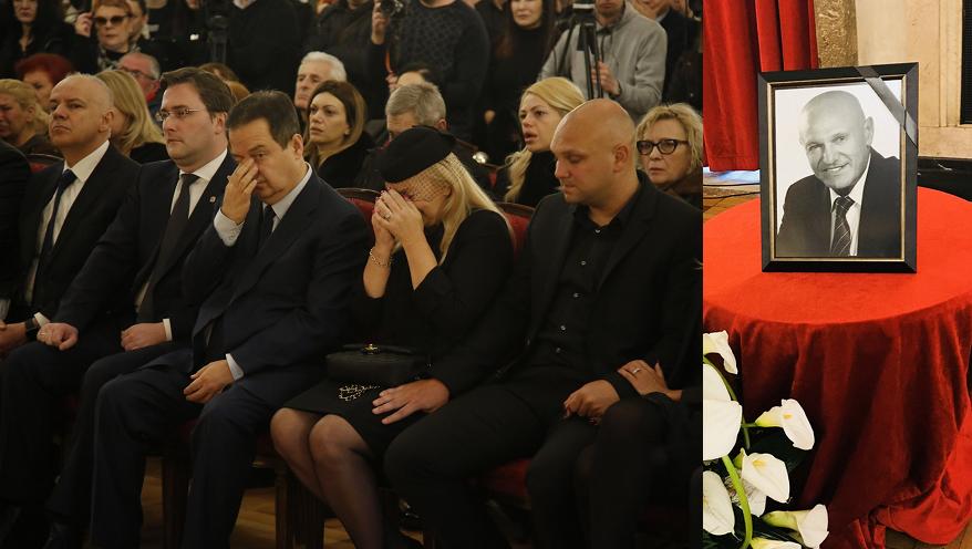 Снимка: Сръбските Легенди Изпратиха Шабан Шаулич В Последния Му Път