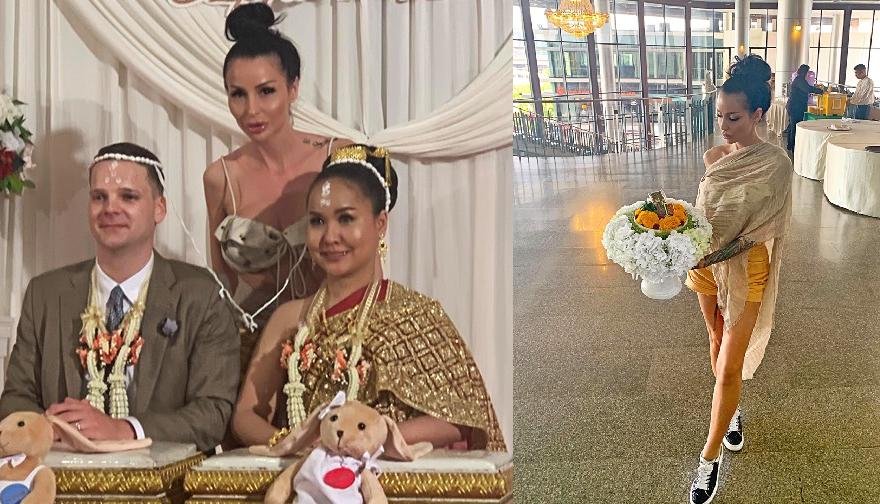 Плеймейтката Деси Димитрова е кумувала на тайландска сватба. Припомняме, че