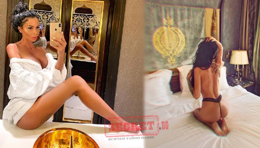 Плеймейтката Деси Димитрова не спира да се фука със сексапилно